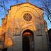 Facade de l'église romaine de Mazan by fgenoher - Mazan 84380 Vaucluse Provence France
