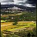 Paysage de provence : Ménerbes par Patrick Bombaert - Ménerbes 84560 Vaucluse Provence France