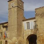 Ménerbes campanile par /Bas - Ménerbes 84560 Vaucluse Provence France