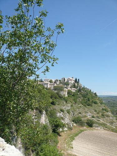Vue sur le village de Méthamis par gab113