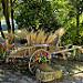 Charette d'épeautre décorée by christian.man12 - Monieux 84390 Vaucluse Provence France