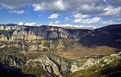 Les montagnes de Provence by Karsten Hansen