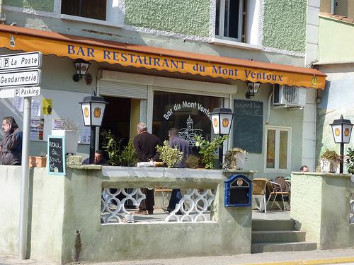 Bar du Mont Ventoux par gab113