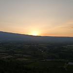 Levé du soleil sur le Mont-Ventoux by gab113 - Mormoiron 84570 Vaucluse Provence France