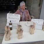 Marché - Les bonnes asperges de Mormoiron par gab113 - Mormoiron 84570 Vaucluse Provence France
