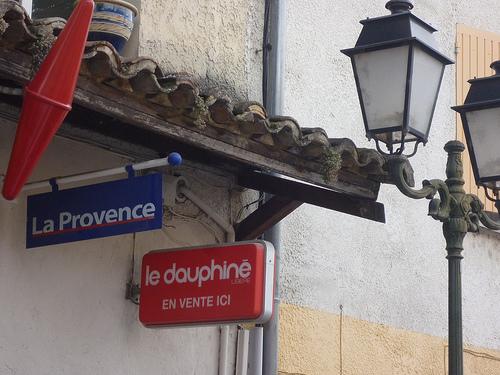 La Provence ou le dauphiné (Vaucluse Matin) ? par gab113