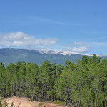 Vue sur le Mont-Ventoux depuis la carrire de Mormoiron by  - Mormoiron 84570 Vaucluse Provence France