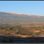 Le Mont Ventoux en fin de journe by  - Mormoiron 84570 Vaucluse Provence France