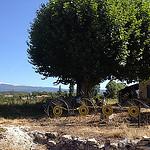 Ferme au pied du Ventoux et de Blauvac par gab113 - Mormoiron 84570 Vaucluse Provence France
