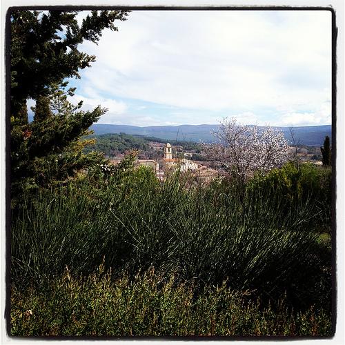 Le clocher de Mormoiron by gab113
