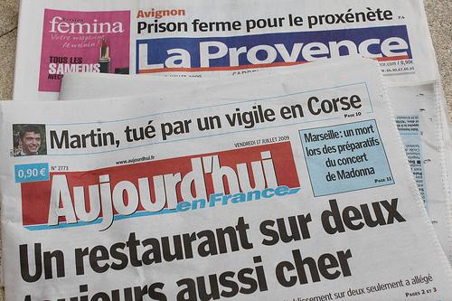 Journaux : La Provence, Aujourd'hui en France by gab113