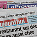 Journaux : La Provence, Aujourd'hui en France by gab113 - Mormoiron 84570 Vaucluse Provence France