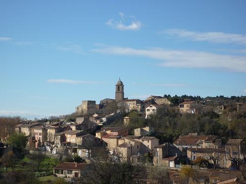 Village de Mormoiron - Vaucluse par gab113