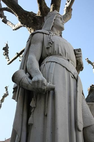 Statue de Raimbaud II d'Orange par Cilions