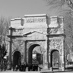 L'Arc de triomphe d'Orange par Cilions - Orange 84100 Vaucluse Provence France