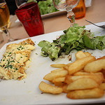Omelette... et frites by Cilions - Orange 84100 Vaucluse Provence France