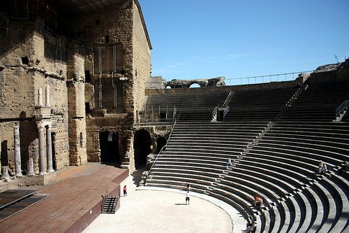 Roman theatre of Orange par Sokleine