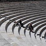 Orange theatre by  - Orange 84100 Vaucluse Provence France