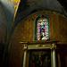 Intérieur de l'église de Pertuis et vitrail par ebtokyo - Pertuis 84120 Vaucluse Provence France
