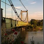 Pont de Pertuis au dessus de la Durance par Alain Taillandier - Pertuis 84120 Vaucluse Provence France