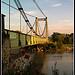 Pont de Pertuis au dessus de la Durance by Alain Taillandier - Pertuis 84120 Vaucluse Provence France