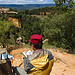 Peinture à roussillon by mary maa - Roussillon 84220 Vaucluse Provence France