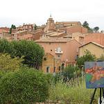 Peinture à Rousillon par mistinguette18 - Roussillon 84220 Vaucluse Provence France