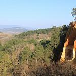 Falaises d'ocre de Roussillon par gab113 - Roussillon 84220 Vaucluse Provence France