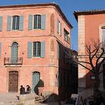 Intérieur du village de Roussillon par gab113 - Roussillon 84220 Vaucluse Provence France