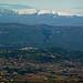 Vue sur roussillon, Vallée du Calavon, Monts de Vaucluse et Mont ventoux by Toño del Barrio - Roussillon 84220 Vaucluse Provence France