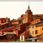 Warm colors of Roussillon by fotoart1945 - Roussillon 84220 Vaucluse Provence France