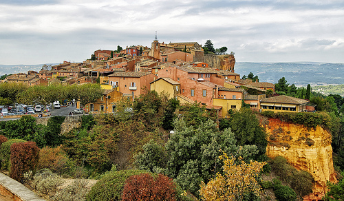 Roussillon colors in Autumn by philhaber