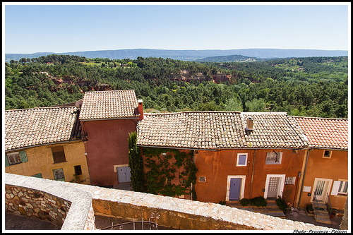 Panorma - Roussillon au Balcon by Photo-Provence-Passion