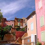 Vive la couleur à Roussillon dans le Luberon par Klovovi - Roussillon 84220 Vaucluse Provence France