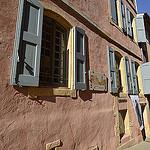 Facades de Roussillon par Massimo Battesini - Roussillon 84220 Vaucluse Provence France