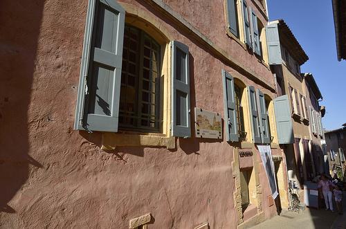 Facades de Roussillon by Massimo Battesini