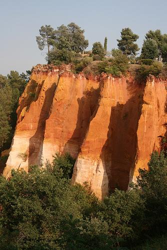 Roussillon, les falaises du chemin des ocres by Pab2944