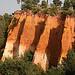 Roussillon, les falaises du chemin des ocres by Pab2944 - Roussillon 84220 Vaucluse Provence France