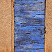 old blue door par Michel Seguret - Roussillon 84220 Vaucluse Provence France