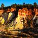 Le Colorado Provencal au couché de soleil par Stéphan Wierzejewski - Rustrel 84400 Vaucluse Provence France