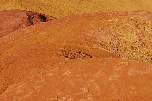 Matière Ocre du Colorado provençal par Michel Seguret
