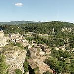 Vue sur le village de Saignon by george.f.lowe - Saignon 84400 Vaucluse Provence France