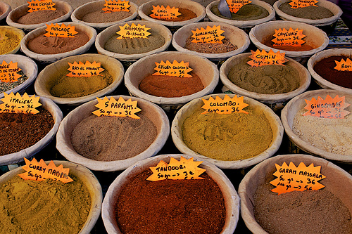 Spices. by Christopher Swan