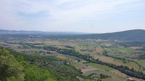 Vue sur la vallée de Sault par gab113