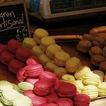 Marché de Sault : Macaron Artisanal par . SantiMB . - Sault 84390 Vaucluse Provence France