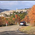 Automne - en Voiture pour Sault by Photo-Provence-Passion - Sault 84390 Vaucluse Provence France