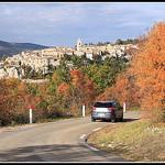 Automne - en Voiture pour Sault par Photo-Provence-Passion - Sault 84390 Vaucluse Provence France