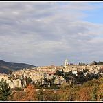 Le Village de Sault par Photo-Provence-Passion - Sault 84390 Vaucluse Provence France