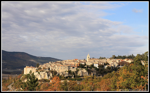 Le Village de Sault by Photo-Provence-Passion