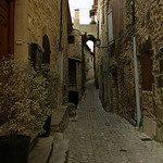 Ruelle en pierre à Séguret - Vaucluse par Vaxjo - Séguret 84110 Vaucluse Provence France